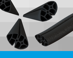 Southbourne Rubber (SBR) Rubber Silicone Extrusions